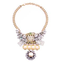 100 year necklace, intricate collage of antique jewelry / Lulu Frost