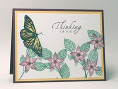 Butterflying by AbbysGrammy - Cards and Paper Crafts at Splitcoaststampers