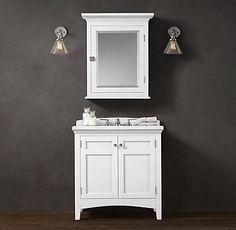 Cartwright | Restoration Hardware  Bathroom Ideas