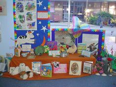 nursery rhymes display