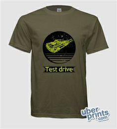Shirt I made on uberprints.com. Test drive