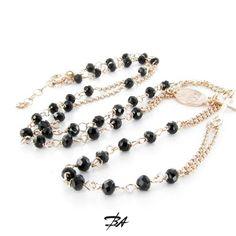 Gargantilla rosario de onix  VENTA ONLINE http://www.bienvenidoasensijoyeros.com/es/colgantes-y-collares/1131-gargantilla-rosario-de-onix.html