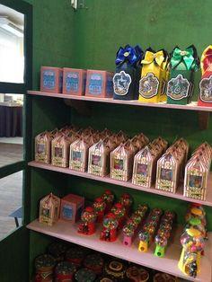 Honeydukes candy & favors from a Harry Potter Birthday Party on Kara's Party Ideas | KarasPartyIdeas.com (20)