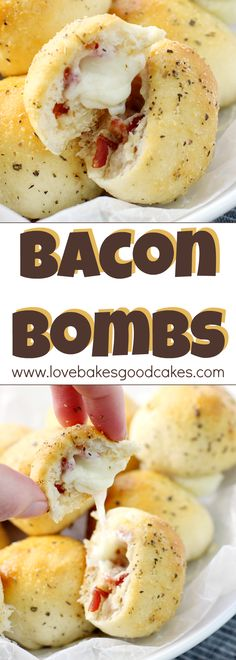These Bacon Bombs are the perfect cheesy snack or appetizer idea! They're so popular, you better make plenty! Easy recipe! AD #BaconDoneWright