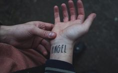 """""""Don't be fooled by the angel wings."""""""