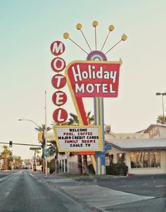 Holiday Motel - 11x14 Fine Art Photographic Print. barbara gordon via Etsy #fpoe