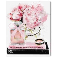 Elegant Perfume and Morning