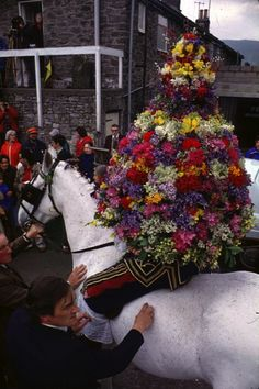Castleton Garland Day, 29th May, Simon Costin, Museum of British Folklore