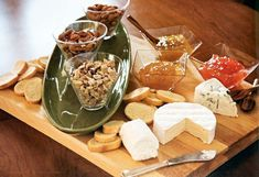 """""""Build Your Own Crostini"""" bar beginning with what else…Cheese!"""
