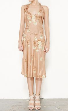 Marni Pink, Green And Multicolor Dress