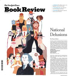 "Keith Negley's for the New York Times Sunday accompanied an article on Kurt Anderson's ""Fantasyland,"" which explains how our nation has been delusional for generations and that the is just the cherry on the top of our fake sundae. Magazine Illustration, Book Illustration, Editorial Layout, Editorial Design, Burning Girl, Newsletter Layout, Man Parts, Drawing Exercises, American Illustration"