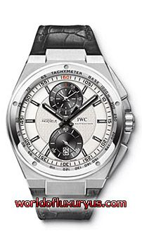 IWC - BIG INGENIEUR CHRONOGRAPH - 378.403 (PLATINUM / SILVER DIAL / ALLIGATOR)  - See more at: http://www.worldofluxuryus.com/watches/IWC/Limited-Editions/378.403/185_551_3103.php#sthash.QLMAYg70.dpuf