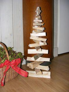 Kerstboom van openhaardhout