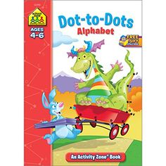 Dot-to-Dot Alphabet Activity Zone (Ages 4-6) by Julie Orr https://www.amazon.com/dp/1589473930/ref=cm_sw_r_pi_dp_x_RiTtybN9MEB12