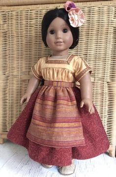 A personal favorite from my Etsy shop https://www.etsy.com/listing/617329271/american-girl-doll-up-cycled-mexican