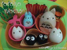 Making Bento is a Blessing... :): Bento No. 102 - Totoro Family