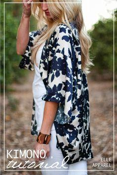 yo elijo coser: Patrón y tutorial: kimono fácil