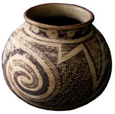 Casas Grandes Pottery: CM A1936.2.100 Native American Pottery, Gourds, Indian, Ceramics, Black, Art, Large Homes, Ceramica, Art Background