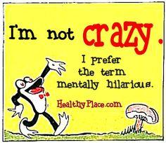 Mental Health Humor Quote