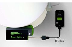 Heat Leeching Chargers - Absorbs Warmth for Power #technology #digital #innovative #mobile #creative #design www.modaliti.com.au