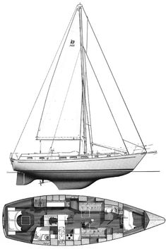 Sailboat and sailing yacht searchable database with more than sailboats from around the world including sailboat photos and drawings. About the PEARSON 422 sailboat Yacht Design, Boat Design, Sailboat Drawing, Sailing Lessons, Sailboat Interior, Small Yachts, Sailboat Plans, Boat Dealer, Float Your Boat