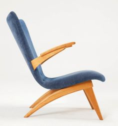 Anonymous; Lounge Chair by Van Oss Culemborg, c1960s.