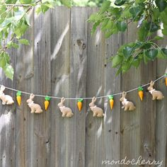 We have just completed a special custom order felt garland for a 3 year old girl's birthday party which is going to be based on the well lo...