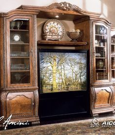 22 Best Wall Units images | Entertainment center