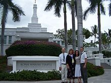 Kona Hawaii Temple by Trevor Taylor. Hawaii Temple, Mormon History, Kona Hawaii, Statue Of Liberty, Liberty Statue