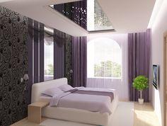 зеркальный потолок, зеркало в интерьере, дизайн интерьера, необычны потолок
