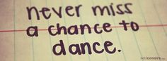 Dance Music Facebook Cover Photo Quotes