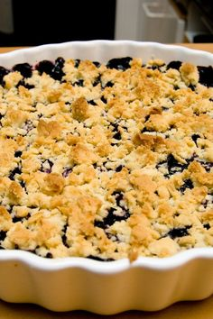Berry Crisp – Weight Watchers (3 Points)