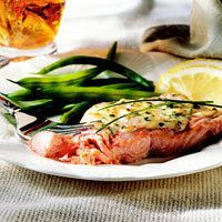 Parmesan Baked Fish by BHG New Dieter's Cookbook