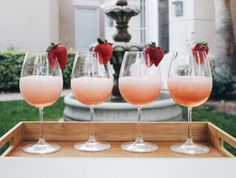 LOWER-SUGAR FROSE RECIPE - frose, frozen rose, rose all day, blogger, recipe, blogger