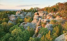 A guide to the Shawnee National Forest