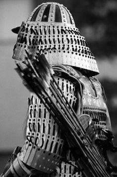 ♂ It's a man's world Black & white Japanese Samurai