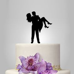 personalize wedding cake topper monogram cake by walldecal76