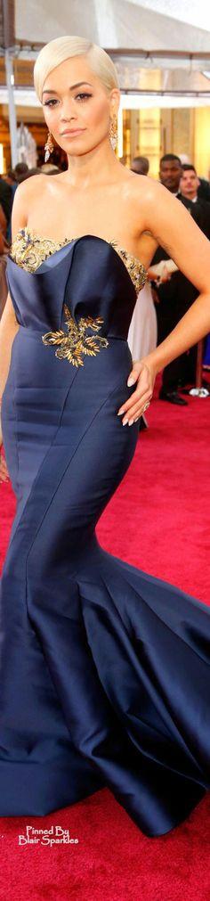 Oscars 2015 Rita Ora in Marchesa ♕♚εїз   BLAIR SPARKLES