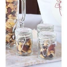 mini mason jars.. sooo cute for guest presents