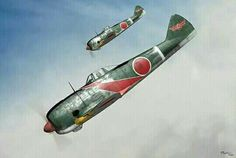 "Nakajima Ki-44 Shoki ""Tojo"" of the  Akeno Army Flying School - Instructor company"