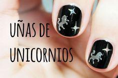 Uñas de Unicornio | Nail Art con láminas metálicas para decoración de uñas