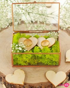 pudełko na obrączki Weeding, Zara, Gifts, Diy, Weddings, Grass, Presents, Weed Control, Bricolage