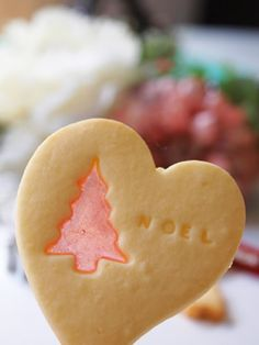 stained glass cookie