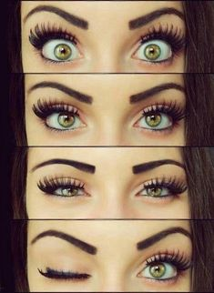 How To Get The False Eyelash Look without false lashes! #long_lashes
