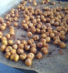 Herbs and Spice Chickpeas | Healthy Nibbles and Bits