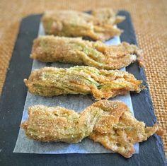 Fiori di zucchina ripieni al forno | Lady Pepper