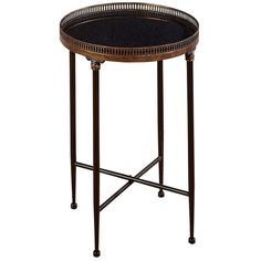 """Hollins Side Table  Joss  & Main $98 sl from 298  26""""H x 18""""D"""