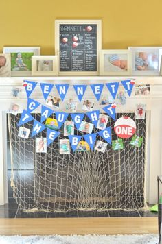 Caught the Big ONE | First Birthday Party | Fishing theme Birthday party