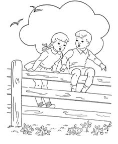 Kids Coloring pages for children