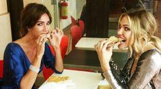 Nozze Hunziker-Trussardi: Blasi e Toffanin ancora affamate dopo il buffet!!